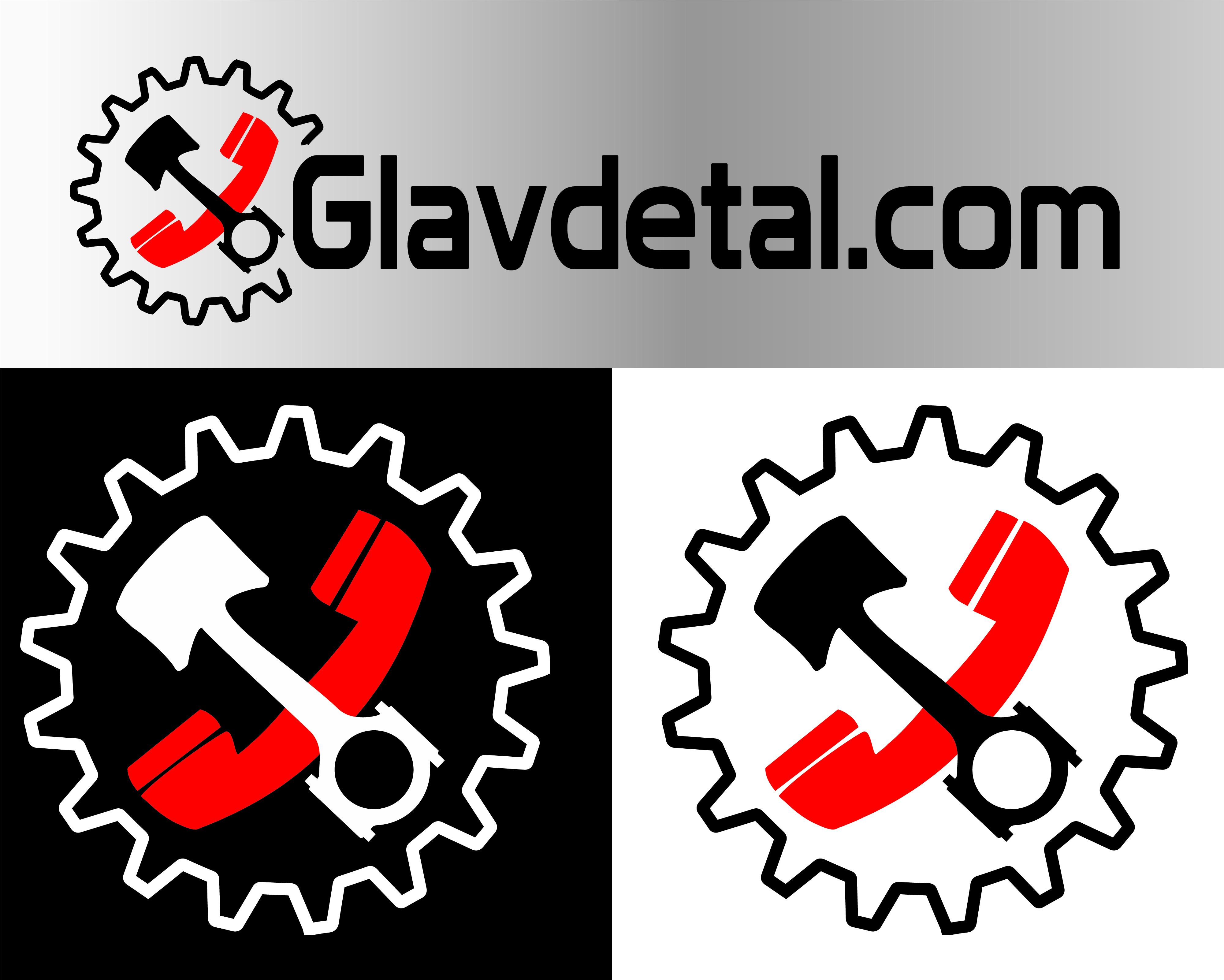 "Логотип компании ""Главдеталь"" фото f_5215e7fd56ac32a0.jpg"