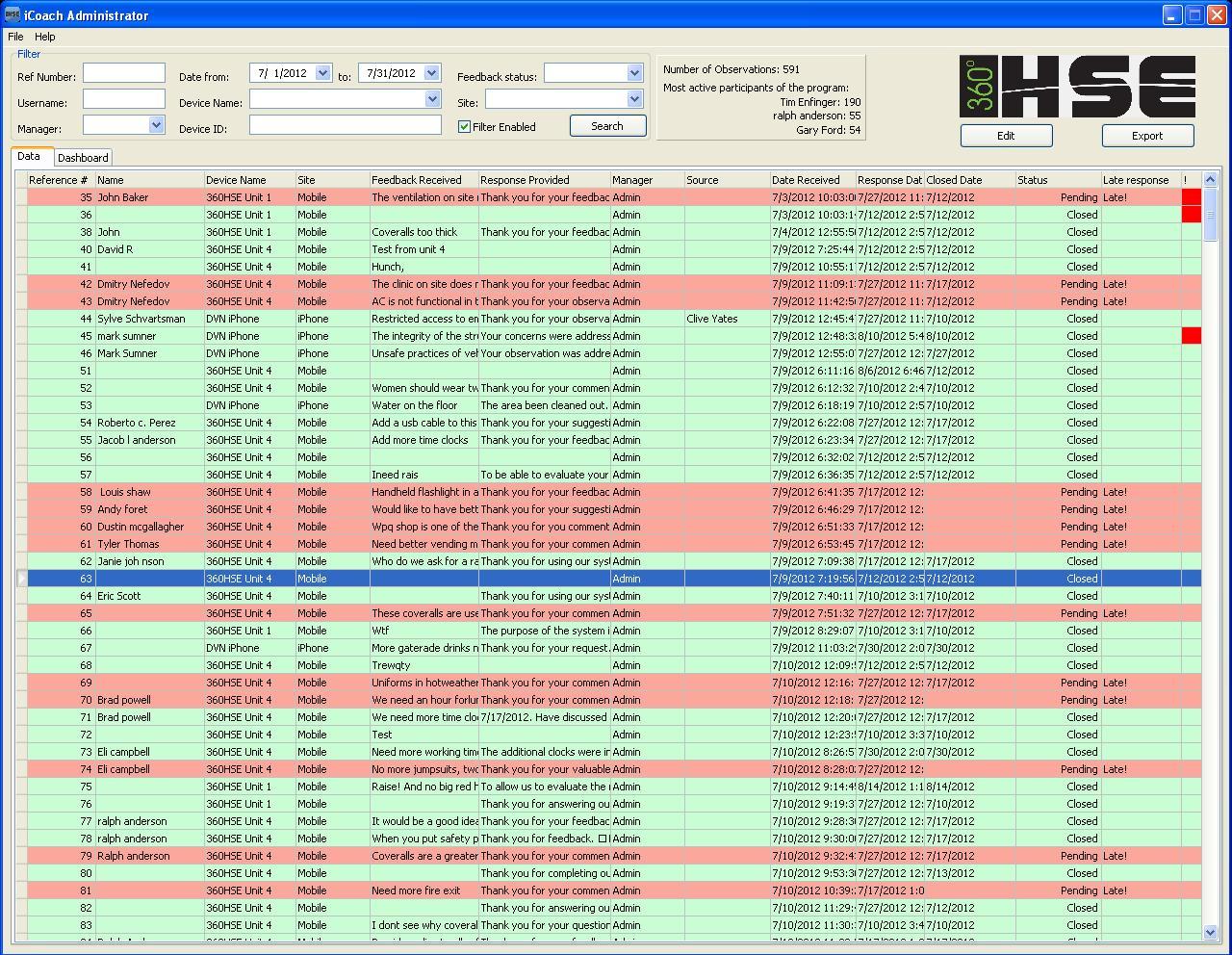 Централизованный сбор и маркетинговый анализ данных с удаленных терминалов