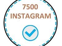 Хит! Раскрутка Инстаграм 5000 подписчиков + 2500 подписчиков бесплатно.