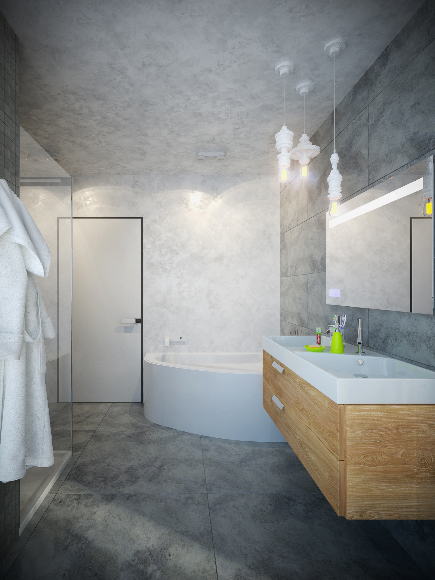 Интерьер квартиры в г. Киев. Ванная комната