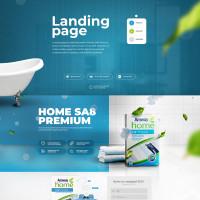 """Landing page """"SA8 Premium"""""""
