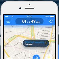 Мобильное iOS приложение - Парковки
