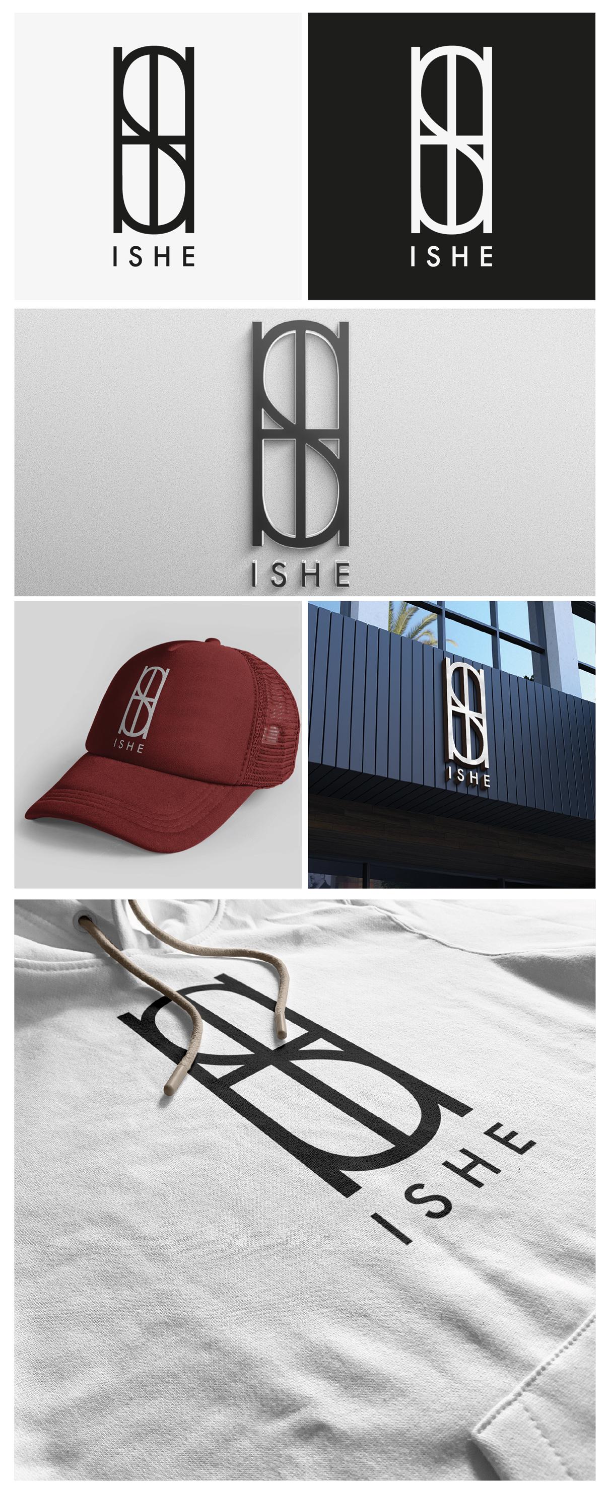 """Создать логотип для торговой марки """"IShe"""" фото f_004601909604ec9e.jpg"""