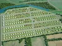 визуализация генплана поселка