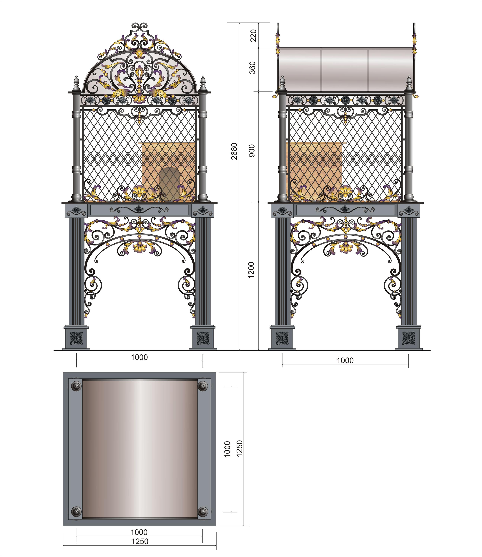 Дизайн конструкции для размещения в ней живого соболя фото f_08357013cc5b697d.jpg
