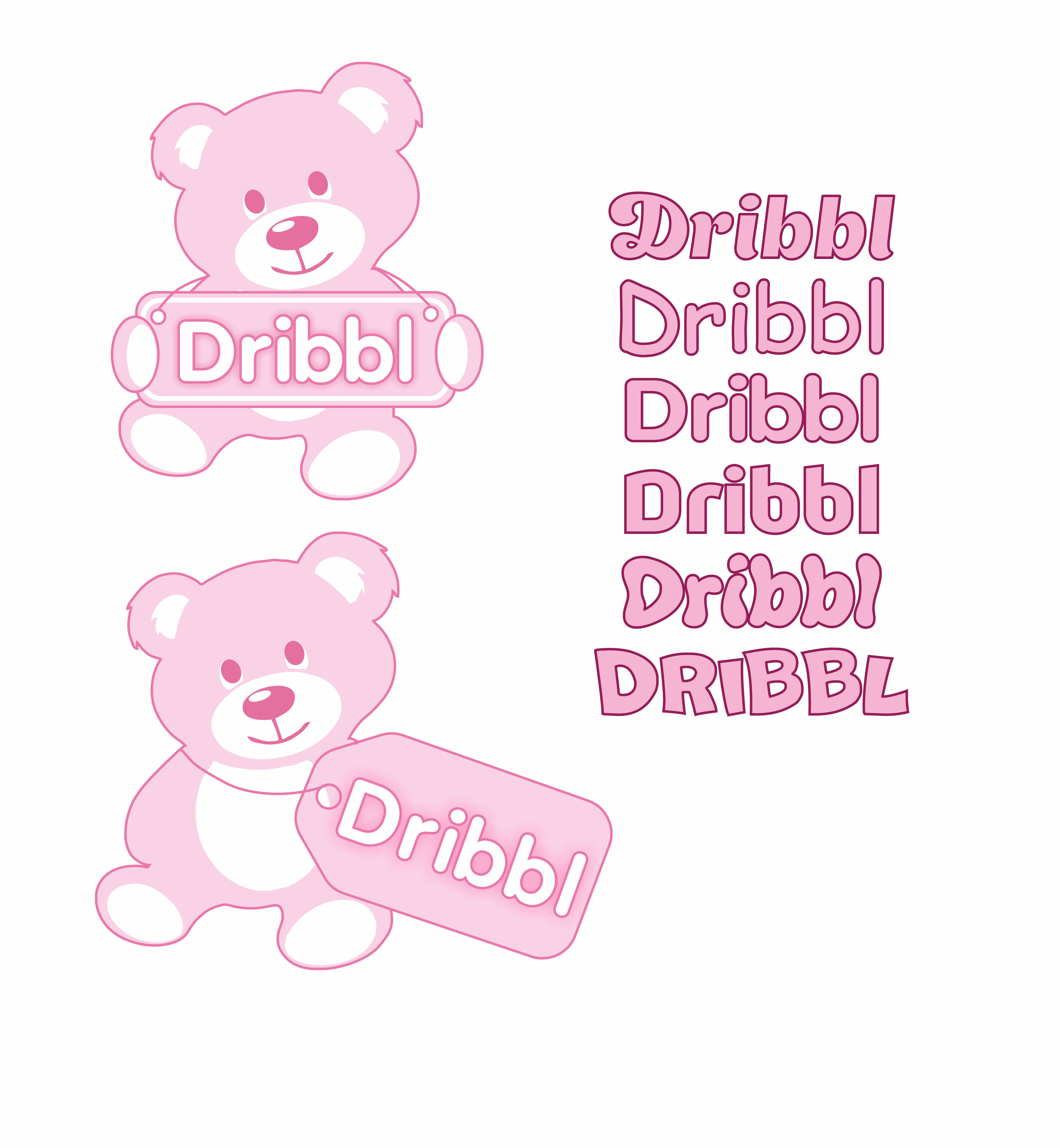 Разработка логотипа для сайта Dribbl.ru фото f_2125a9bc791f403f.jpg