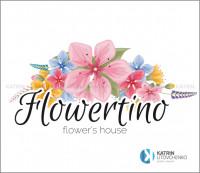 Логотип Flowertino