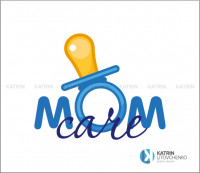 Логотип Mom care