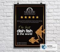 Плакат Seafood Restaraunt