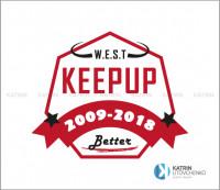 Логотип Keepup