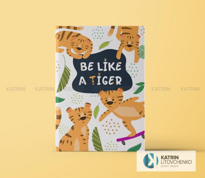 Обложка тигр