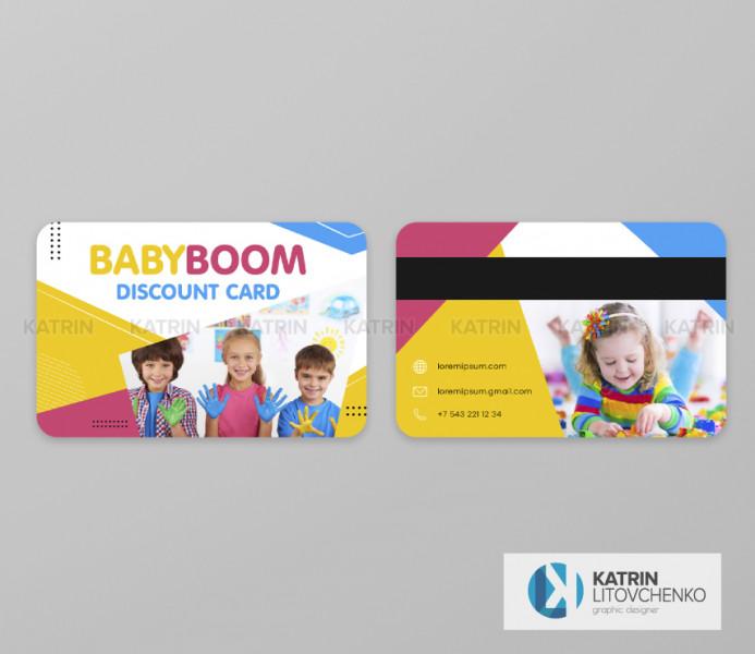 Дисконтная карта Baby Boom