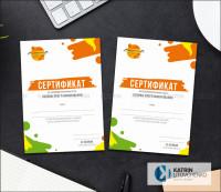 Сертификат Программирование