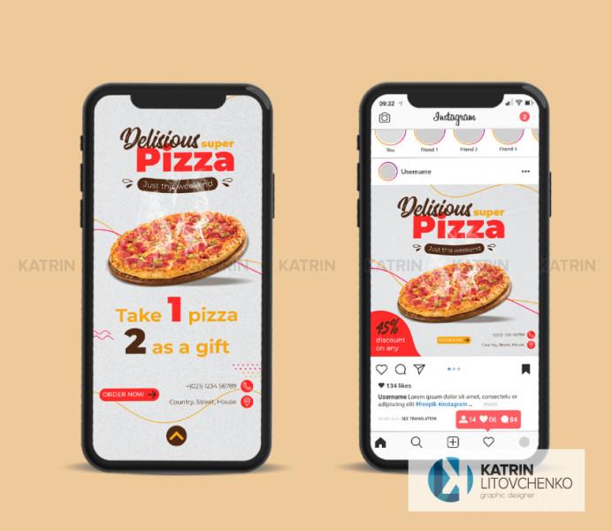 Инстаграм Pizza