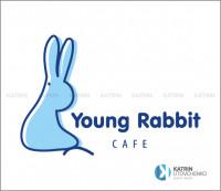 Логотип Cafe Young rabbit