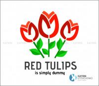 Логотип Red tulips