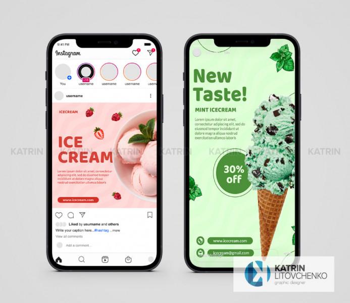 Инстаграм Ice Cream