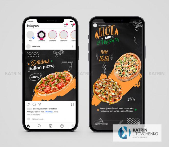Инстаграм Italian Pizza