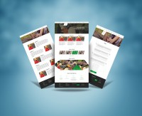 VOSTOK-ECO сайт промышленной компании на WordPress