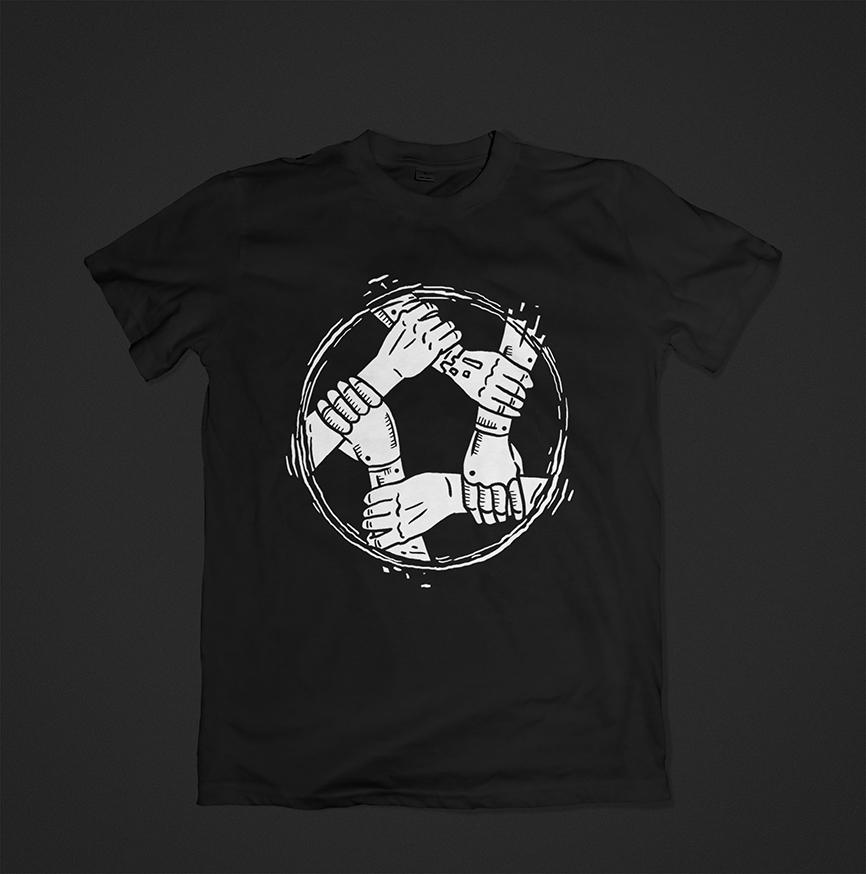 Нарисовать принты на футболки для компании Моторика фото f_61760a601ba9e9e3.jpg