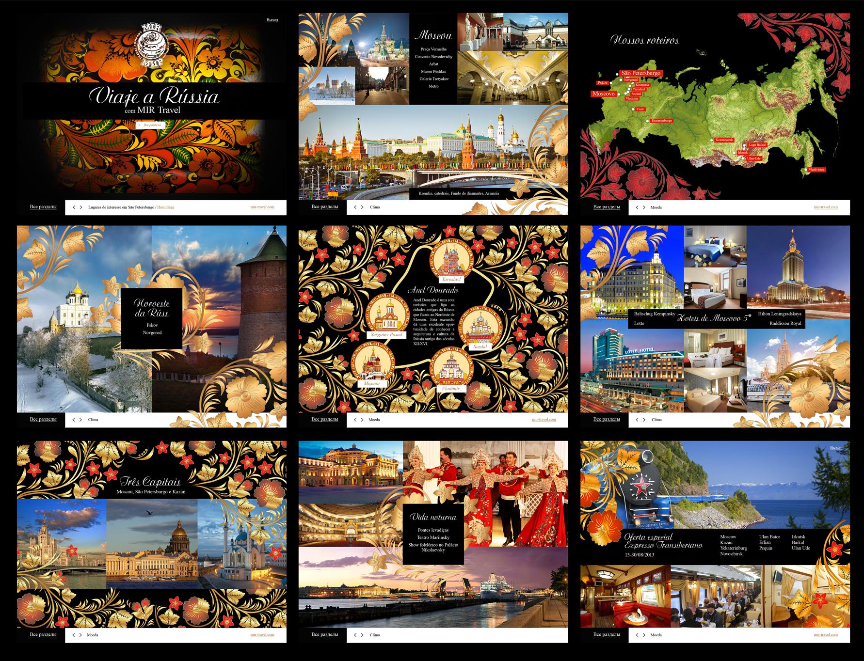 Презентация о России для иностранных туристов