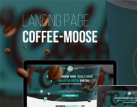 Landing Page Coffee-Moose