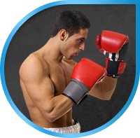 Landing Page. Fight Fitness