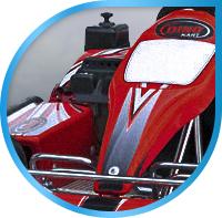 Landing page. Выездной картинг RRT Kart