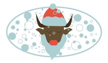 Создать рисунки быков, символа 2021 года, для реализации в м фото f_6855eea00d663d41.jpg