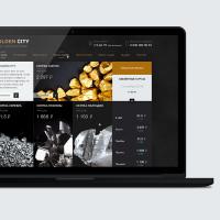 Сайт «Golden City» операции с драгоценными металлами