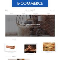Интернет магазин для производителя кирпичных декораций на стены