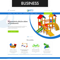 Сайт для производителей детских площадок