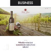 Сайт для производителя итальянского вина