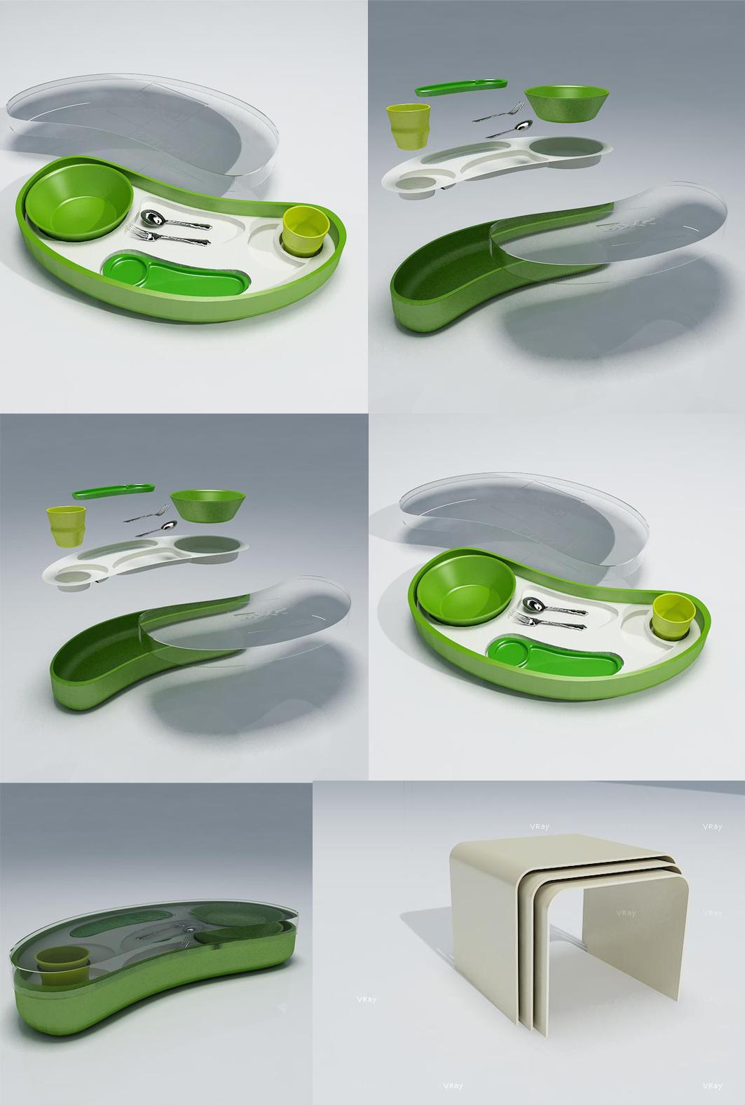 набор посуды для РЖД