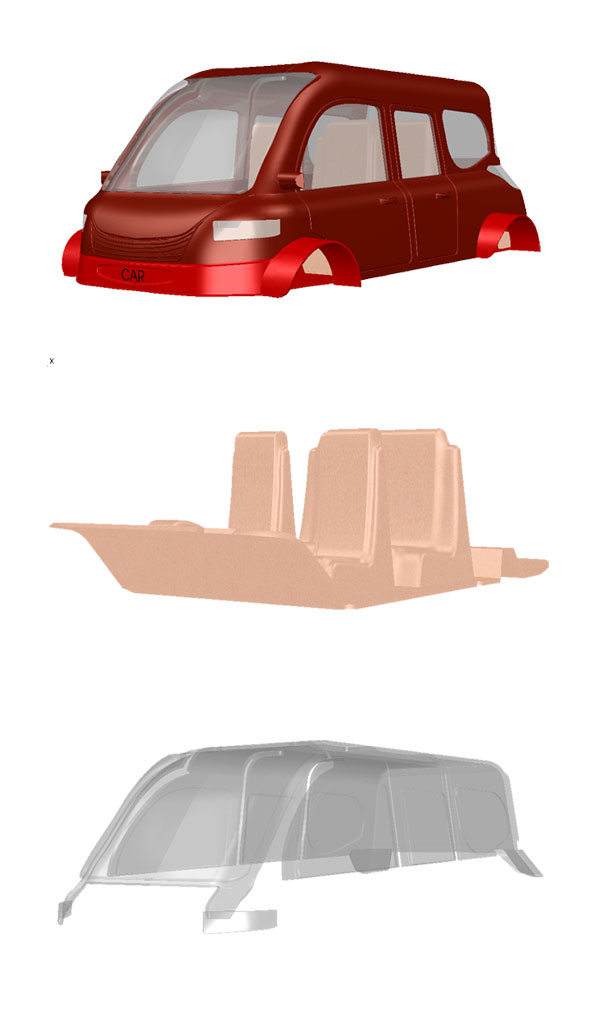 model car rino