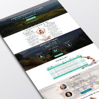 Landing Page Тренинга по йоге в Карпатах