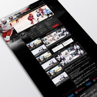 "Корпоративный сайт школи  ""Young Hockey"""