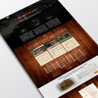 """Landing page """"Modular Homes"""""""