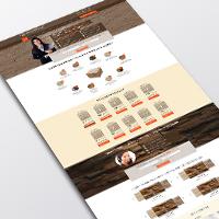 Landing page по продаже камней