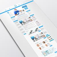 Сайт для стоматологический клиники