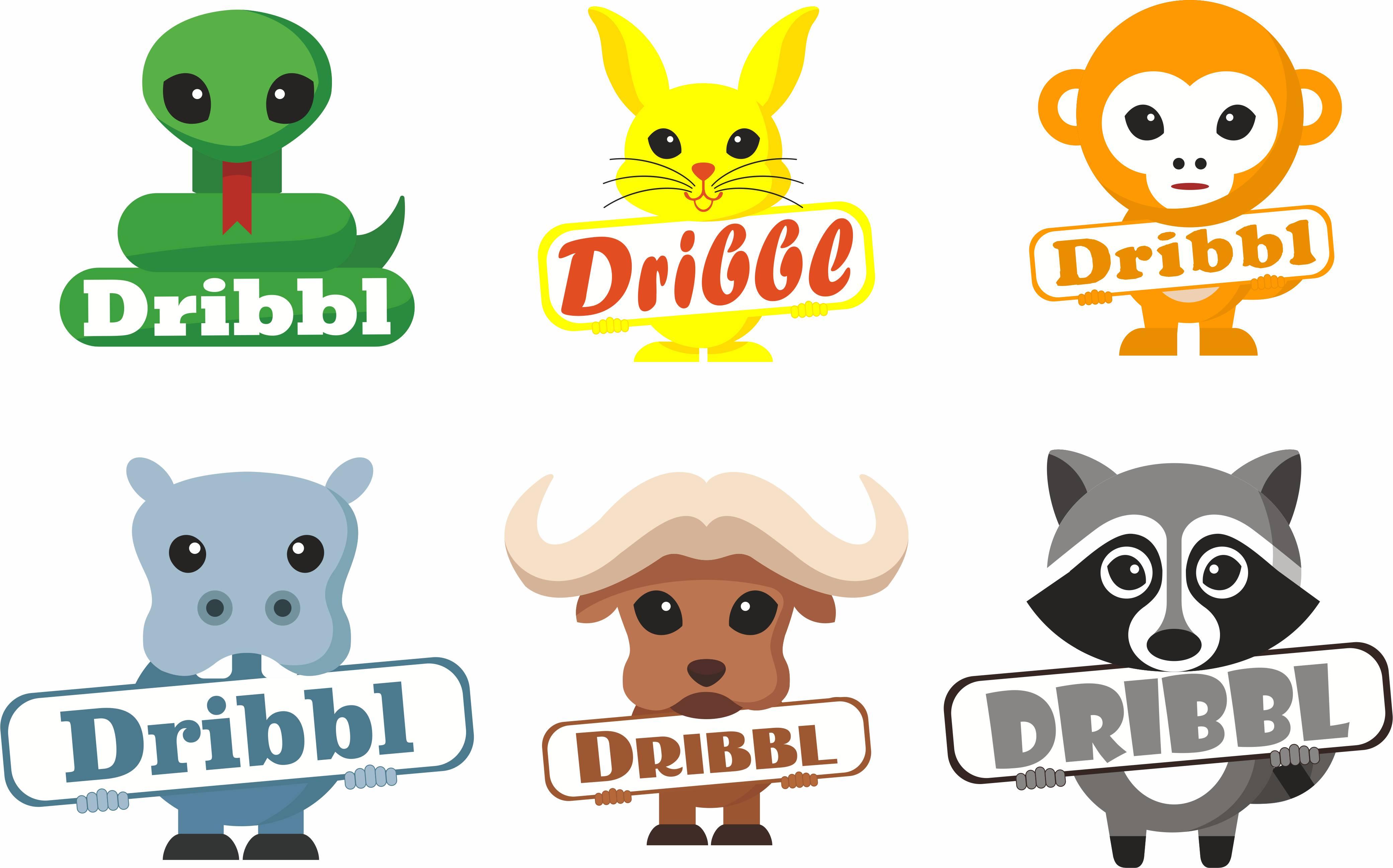 Разработка логотипа для сайта Dribbl.ru фото f_2345a9c379875c27.jpg
