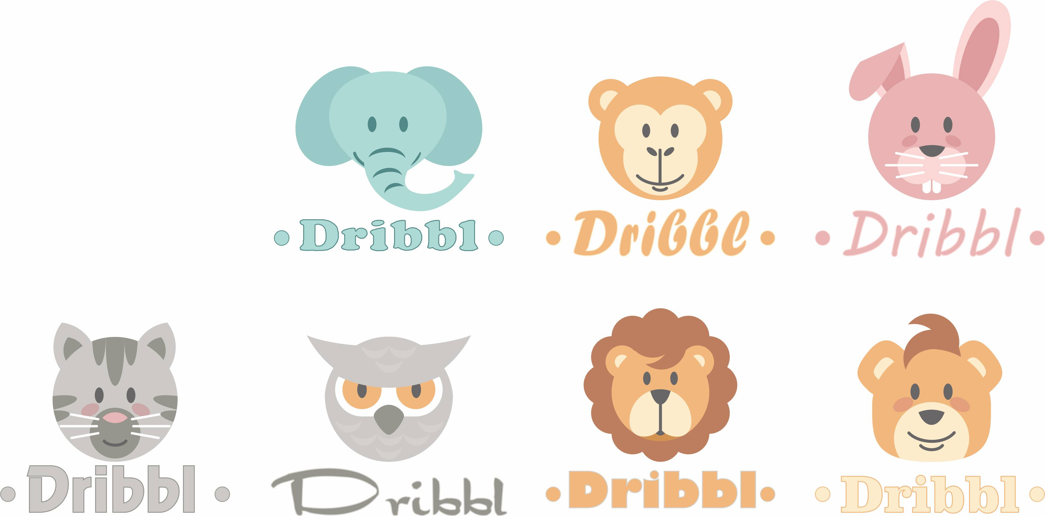 Разработка логотипа для сайта Dribbl.ru фото f_8585a9c3790b48c8.jpg