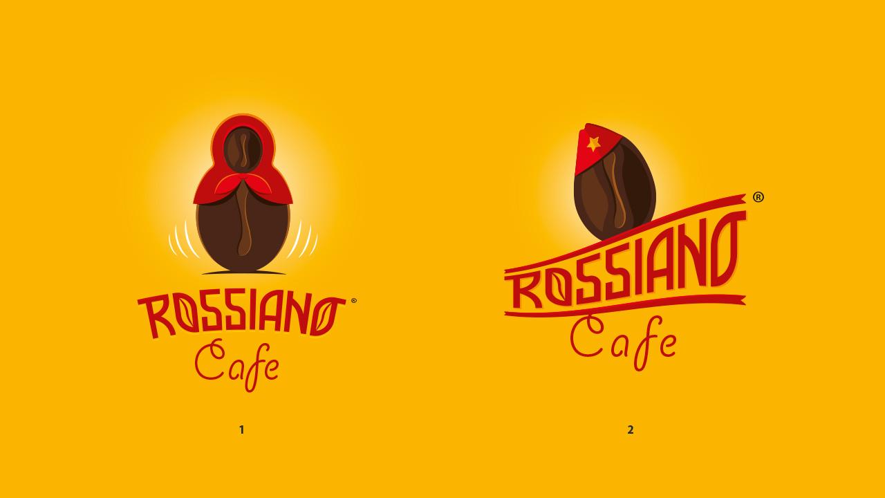 Логотип для кофейного бренда «Rossiano cafe». фото f_06757bc9af6857f9.jpg
