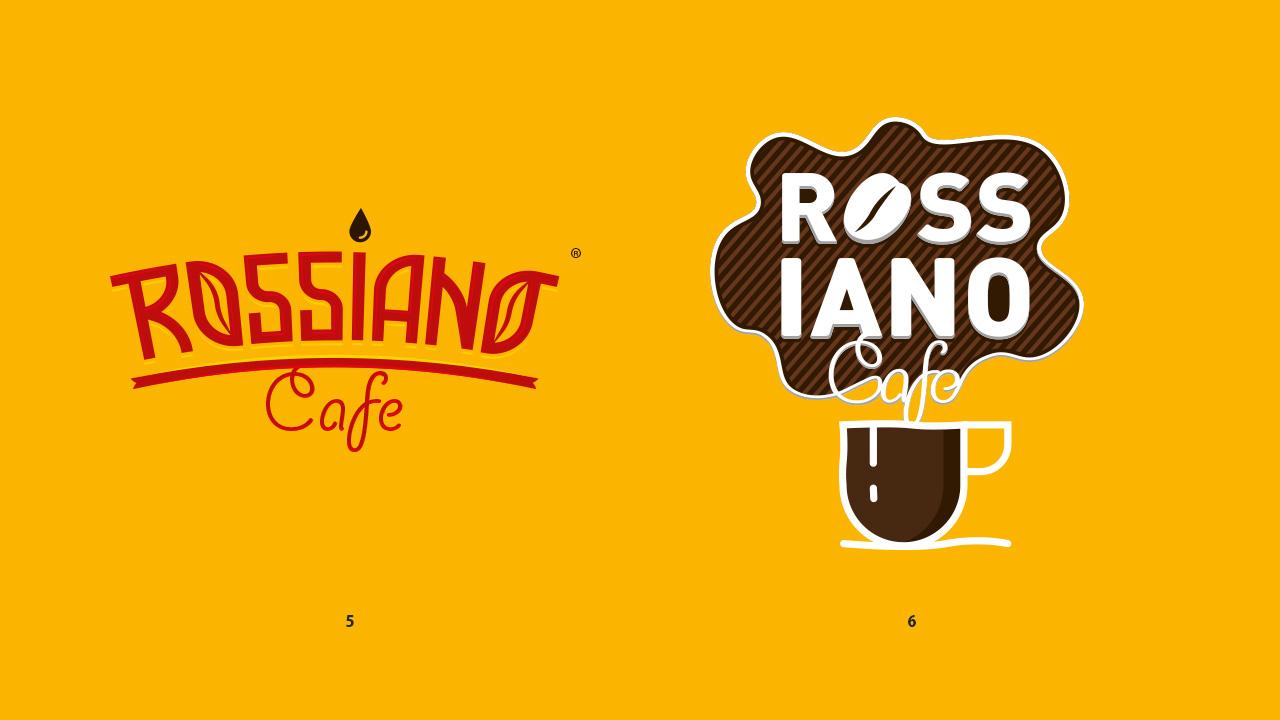 Логотип для кофейного бренда «Rossiano cafe». фото f_98757bc9b1002f39.jpg