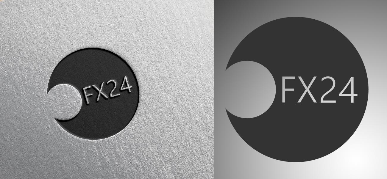 Разработка логотипа компании FX-24 фото f_09554614a3f6d28b.png