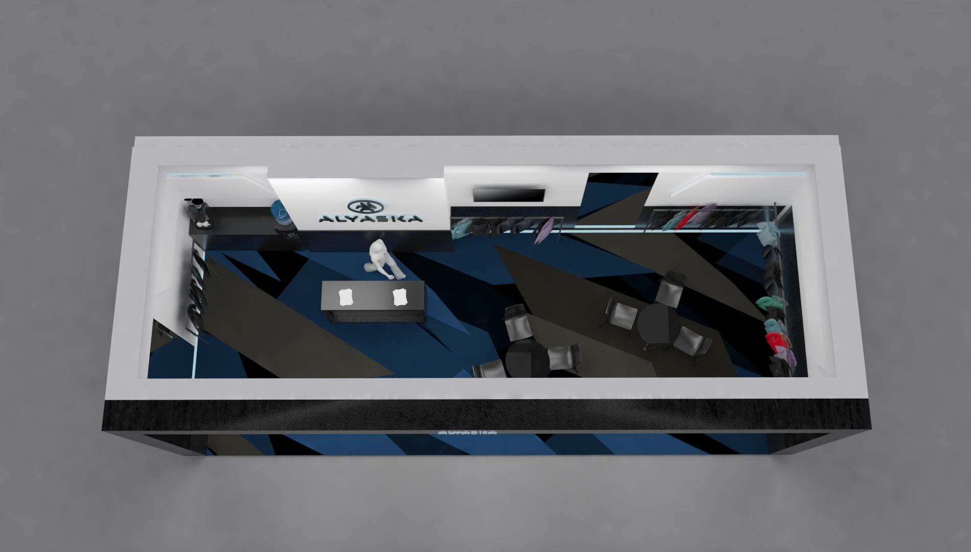 Проект выставочного стенда CPM фото f_4935c2102ebcf30b.jpg