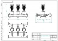 Насосная установка на базе Grundfos