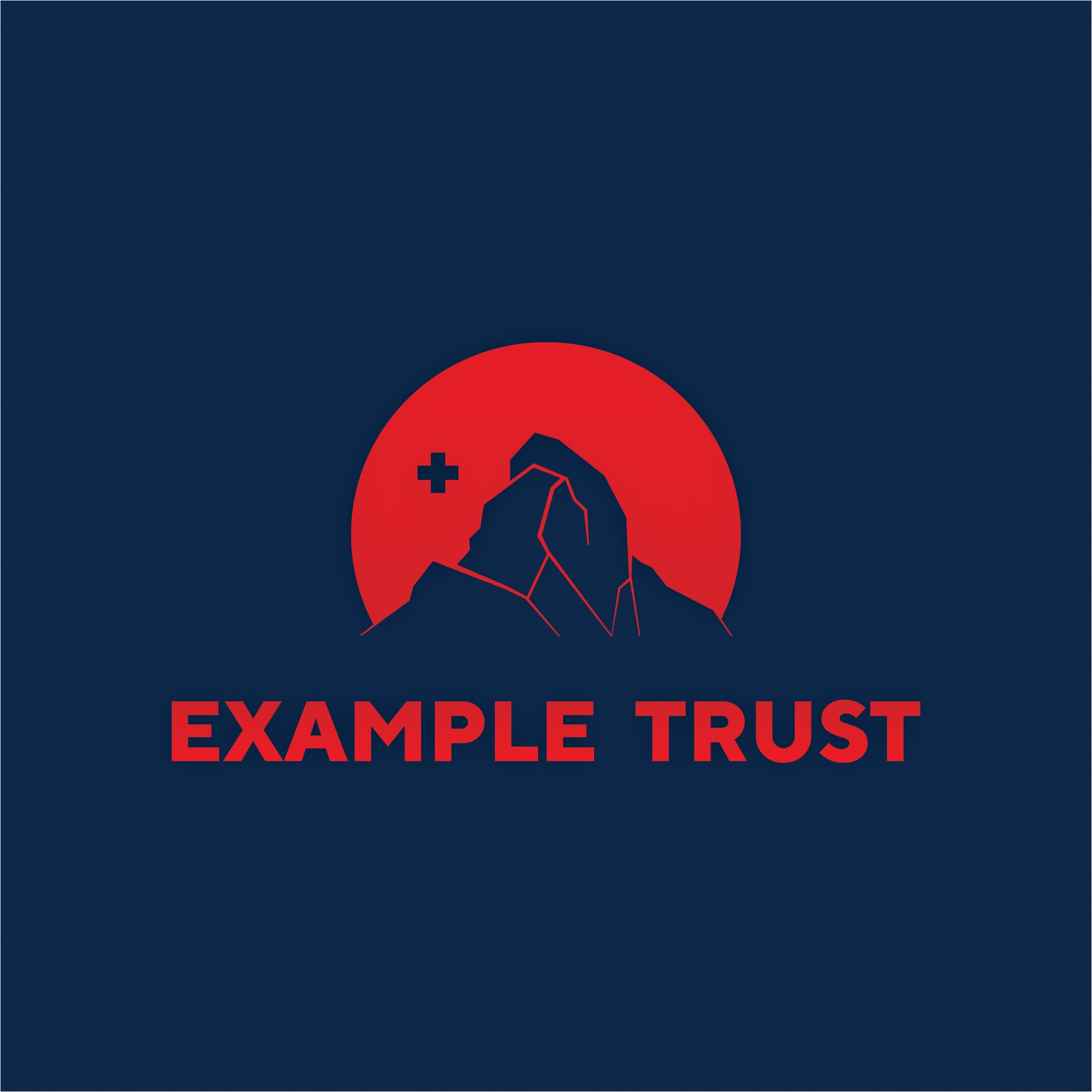 Вариант логотипа для криптовалютного треста