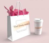 Дизайн пакета и стаканчика для кофе