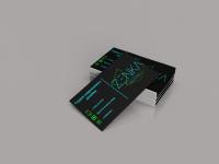 визитка для студии дизайна